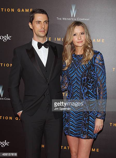 "Actor Matthew Goode and Sophie Dymoke attend ""The Imitation Game"" New York Premiere at Ziegfeld Theater on November 17, 2014 in New York City."