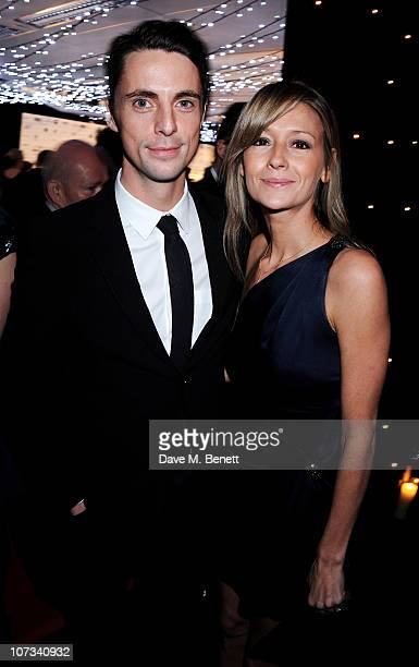 Actor Matthew Goode and Sophie Dymoke attend the Moet British Independent Film Awards 2010 Champagne Reception on December 5, 2010 in London, England.