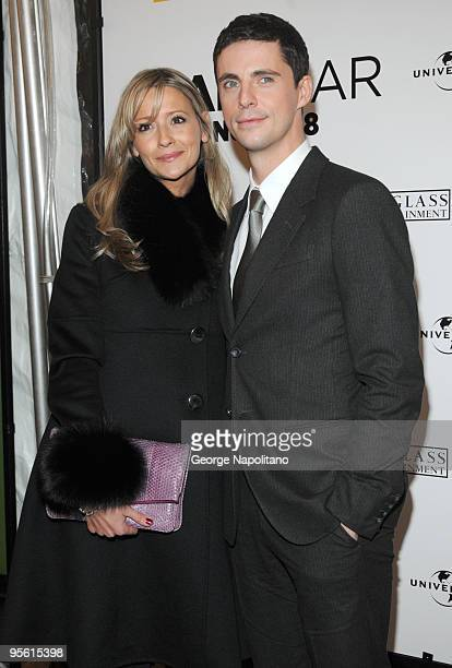 Actor Matthew Goode and Sophie Dymoke attend the premiere of Leap Year at the Directors Guild Theatre on January 6 2010 in New York City