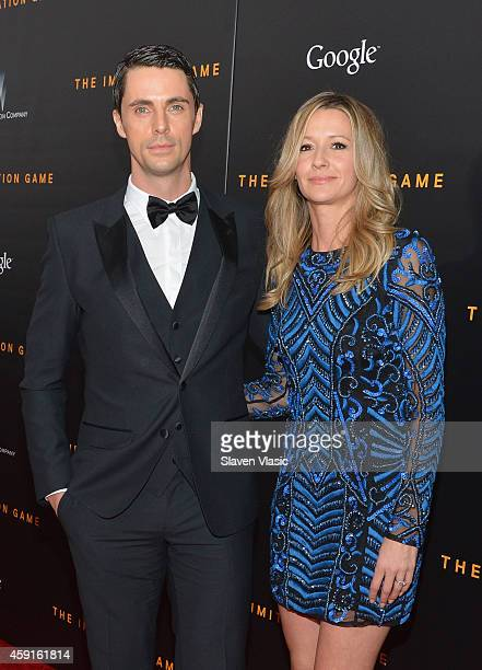 Actor Matthew Goode and Sophie Dymoke attend the 'The Imitation Game' New York Premiere at Ziegfeld Theater, hosted by Weinstein Company on on...