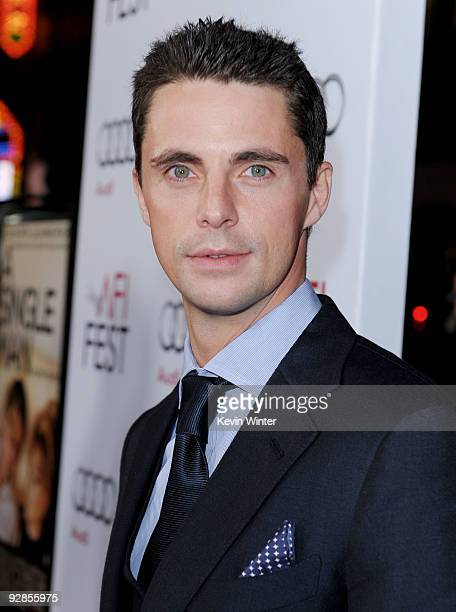 Actor Matthew Goode arrives at the AFI FEST 2009 screening of the Weinstein Company's 'A Single Man' at the Chinese Theater on November 5 2009 in Los...