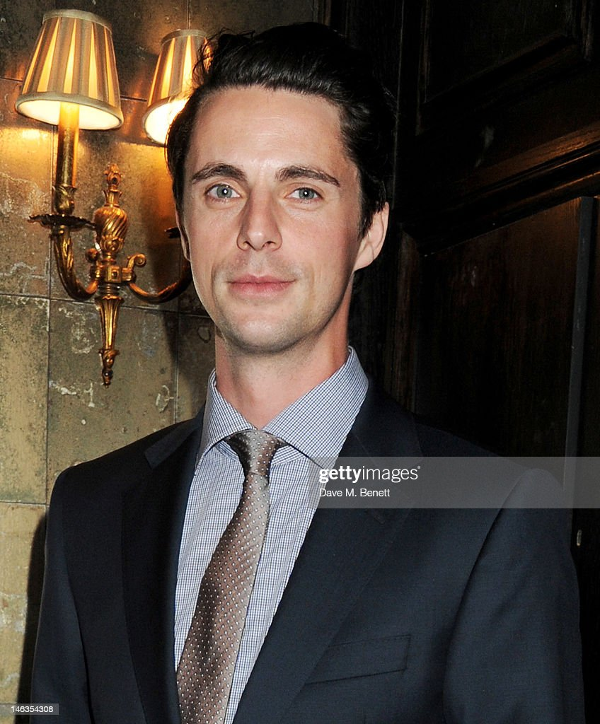 Actor Matthew Goode attends as Tommy Hilfiger hosts a cocktail party to celebrate the launch of London Collections: Men at The Scotch of St. James London on June 14, 2012 in London, England.