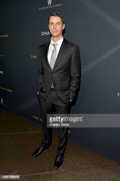 Actor Matthew Goode attends The Weinstein Company's 'The Imitation Game' Los Angeles special screening hosted by CHANEL on November 10 2014 in Los...