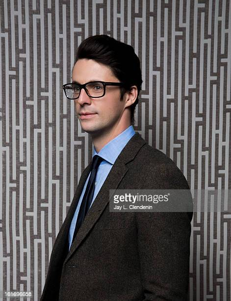 Actor Matthew Goode is photographed at the Sundance Film Festival for Los Angeles Times on January 21 2013 in Park City Utah PUBLISHED IMAGE CREDIT...