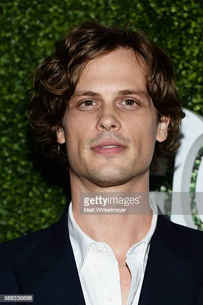 Actor Matthew Gray Gubler arrives at the CBS CW Showtime Summer TCA Party at Pacific Design Center on August 10 2016 in West Hollywood California