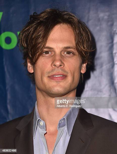 Actor Matthew Gray Gubler attends CBS' 2015 Summer TCA party at the Pacific Design Center on August 10 2015 in West Hollywood California
