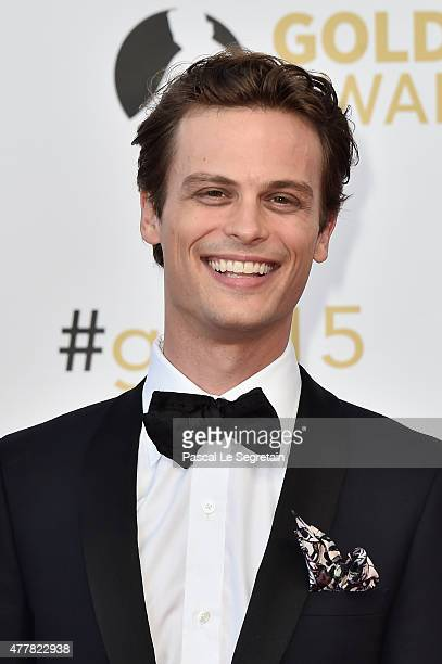 Actor Matthew Gray Gubler attends the closing ceremony of the 55th Monte Carlo TV Festival on June 18 2015 in MonteCarlo Monaco