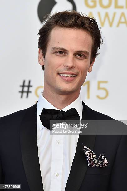 Actor Matthew Gray Gubler attends the closing ceremony of the 55th Monte Carlo TV Festival on June 18 2015 in MonteCarlo Monaco