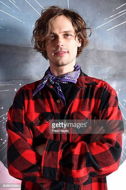 Actor Matthew Gray Gubler attends the SAG Indie Brunch at Cafe Terigo on January 24 2016 in Park City Utah