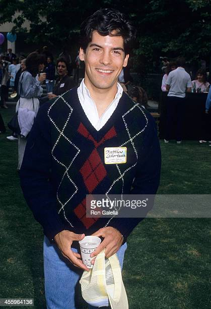 Actor Matthew Laborteaux attends the 19th Annual California Special Olympics Summer Games Opening Night Ceremonies on June 17 1988 at Drake Stadium...