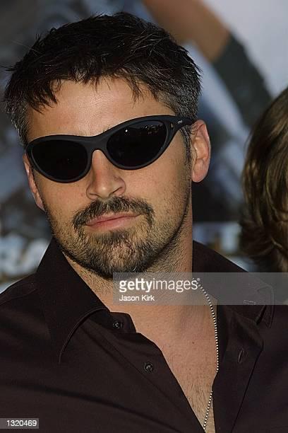 "Actor Matthew LeBlanc arrives at the world premiere of the film ""Lara Croft: Tomb Raider"" June 11, 2001 in Westwood, CA."