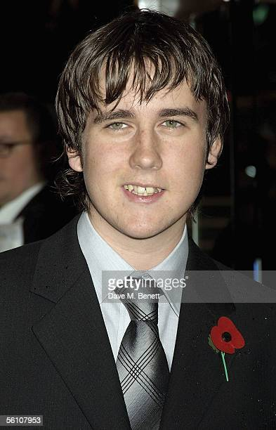 Actor Matthew Lewis arrives at the World Premiere of 'Harry Potter And The Goblet Of Fire' at the Odeon Leicester Square on November 6 2005 in London...