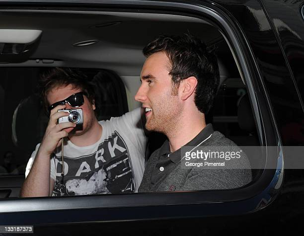 Actor Matthew Lewis attends the Canadian Premiere for 'Harry Potter and The Deathly Hallow Part 2' at the Scotiabank Theatre on July 12 2011 in...