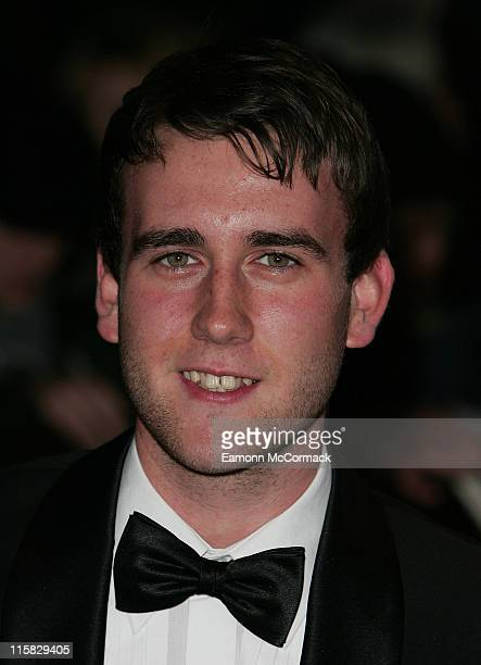 Actor Matthew Lewis attends the National Movie Awards at the Royal Festival Hall on September 28 2007 in London England