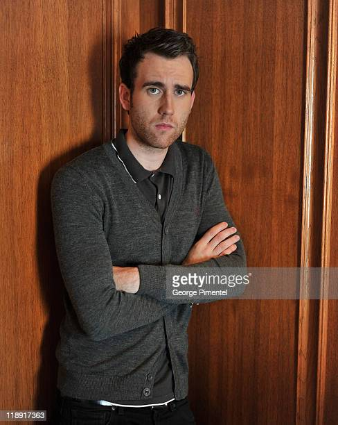 Actor Matthew Lewis poses for a portrait session at The Fairmont Royal York Hotel on July 12 2011 in Toronto Canada