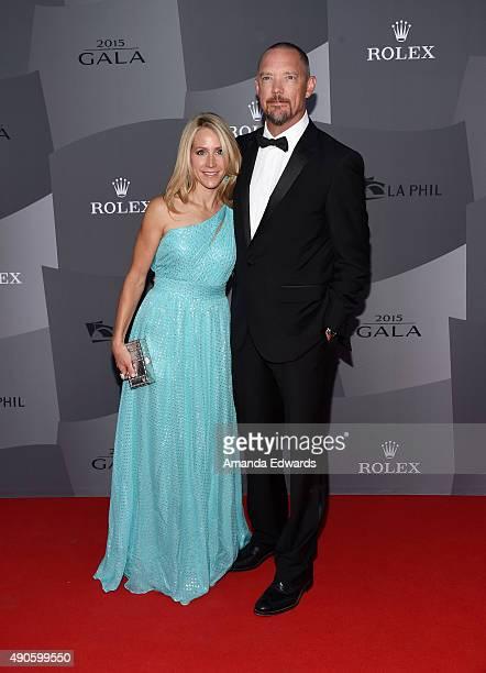Actor Matthew Lillard and Heather Helm arrive at The Los Angeles Philharmonic 2015/2016 Season Opening Night Gala at the Walt Disney Concert Hall on...