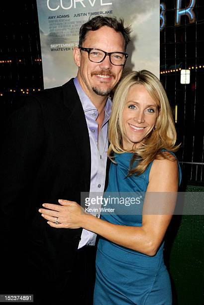 """Actor Matthew Lillard and Heather Helm arrive at Warner Bros. Pictures' """"Trouble With The Curve"""" premiere at Regency Village Theatre on September 19,..."""