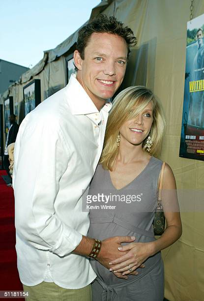 Actor Matthew Lillard and his wife Heather arrive at the premiere of Paramount's Without A Paddle at the Paramount Studios lot on August 16 2004 in...