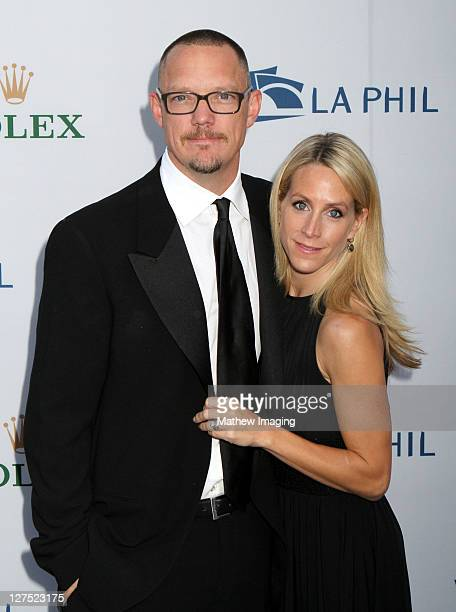 Actor Matthew Lillard and wife Heather Helm arrive at the Los Angeles Philharmonic Opening Night Gala at Walt Disney Concert Hall on September 27,...