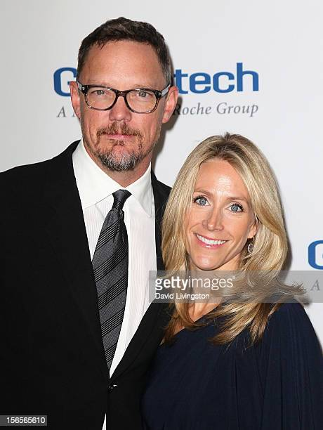 Actor Matthew Lillard and wife Heather Helm attend the Dream Foundation's 11th Annual Celebration of Dreams at Bacara Resport and Spa on November 16,...