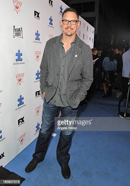 Actor Matthew Lillard attends Autism Speaks' 3rd Annual 'Blue Jean Ball' presented by The GUESS Foundation at Boulevard 3 on October 24 2013 in...