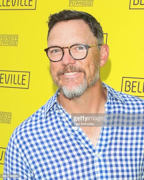 Actor Matthew Lillard attends the opening night of 'Belleville' at the Pasadena Playhouse on April 22 2018 in Pasadena California