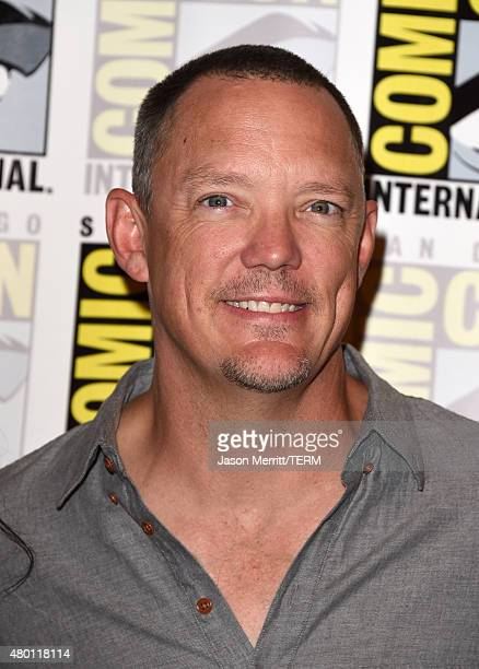 Actor Matthew Lillard attends the ScoobyDoo and Kiss Rock and Roll Mystery Press Room during ComicCon International 2015 at the at Hilton Bayfront on...