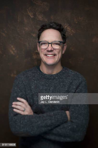 Actor Matthew Lillard from the film 'Halfway There' is photographed for Los Angeles Times on January 22 2018 in the LA Times Studio at Chase Sapphire...