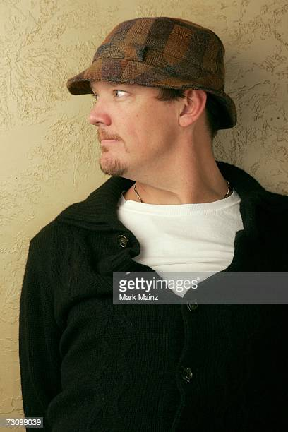 Actor Matthew Lillard from the film What Love Is pose for a portrait during the 2007 Sundance Film Festival on January 24 2007 in Park City Utah