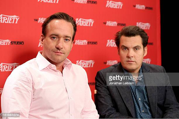 Actor Matthew Macfadyen and director Joe Wright attend Variety Studio presented by Moroccanoil at Holt Renfrew on Day 2 at Holt Renfrew Toronto...
