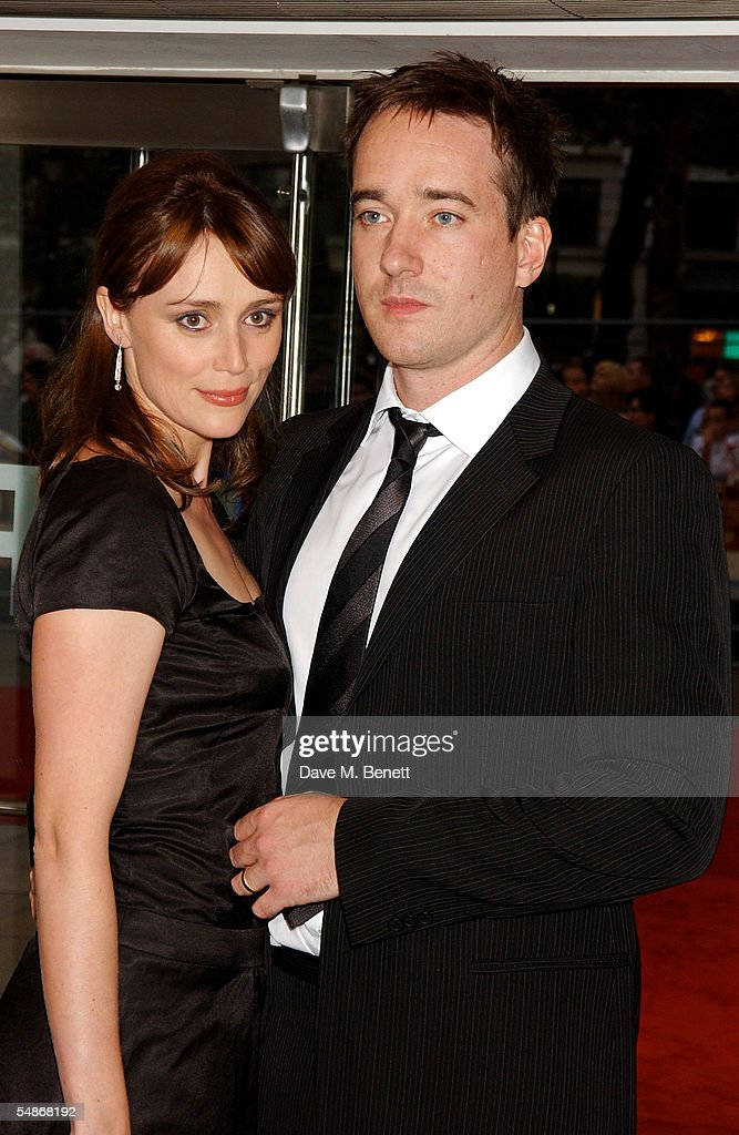 Actor Matthew MacFadyen and wife Keeley Hawes arrive at ...