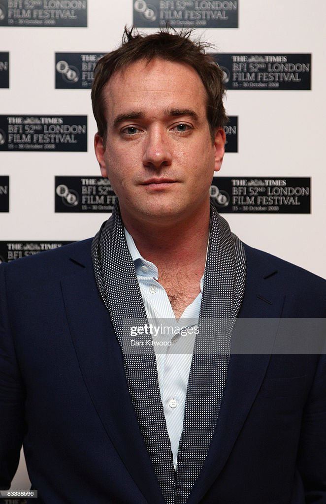 Actor Matthew Macfadyen arrives at the BFI 52nd London Film Festival European Premiere of Incendiary in Leicester Square on October 18, 2008 in London, England.