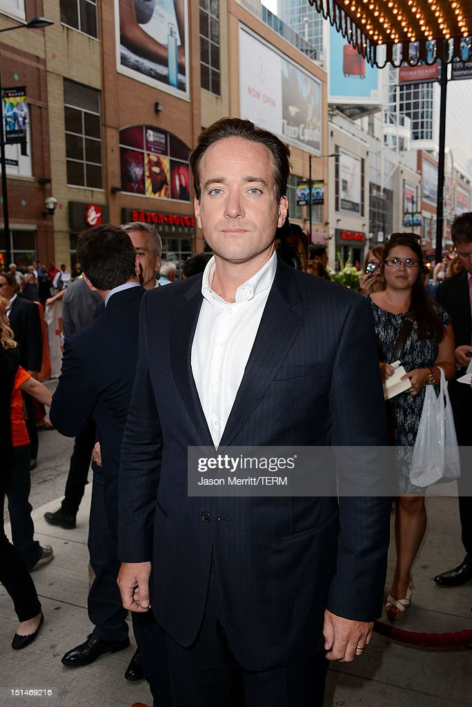 Actor Matthew Macfadyen attends the 'Anna Karenina' premiere during the 2012 Toronto International Film Festival at The Elgin on September 7, 2012 in Toronto, Canada.