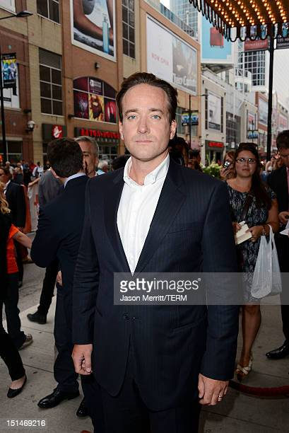 Actor Matthew Macfadyen attends the Anna Karenina premiere during the 2012 Toronto International Film Festival at The Elgin on September 7 2012 in...