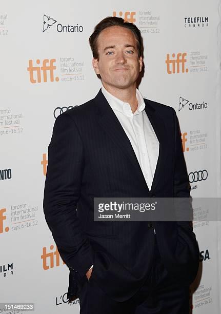 Actor Matthew Macfadyen attends the Anna Karenina premiere during the 2012 Toronto International Film Festival at The Elgin on September 7 2012 in...