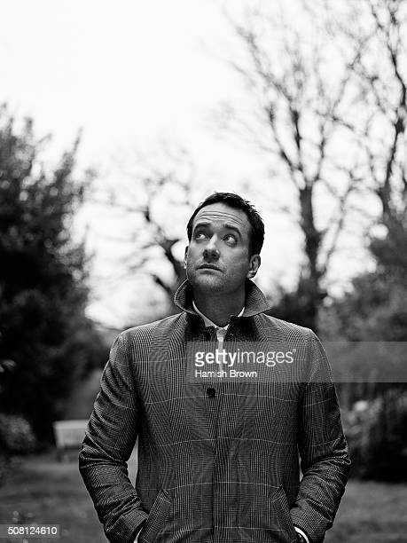 Actor Matthew Macfadyen is photographed for Red magazine on February 11 2015 in London England