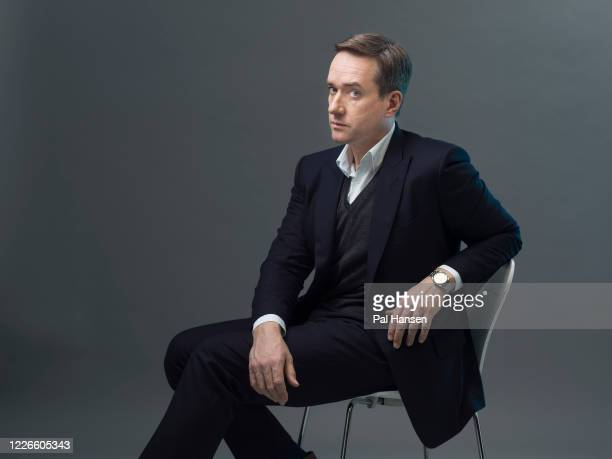 Actor Matthew Macfadyen is photographed for the Observer on March 12 2020 in London England