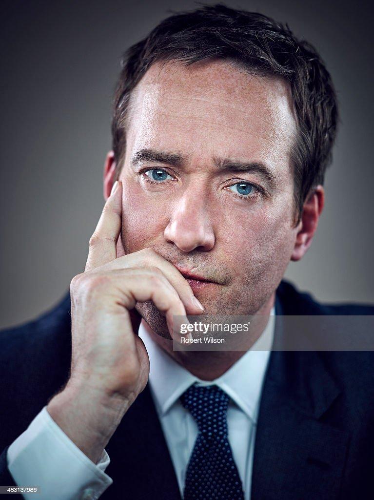 Matthew Macfadyen, Times magazine UK, March 30, 2015 : News Photo