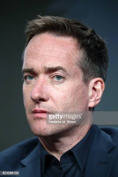 Actor Matthew Macfadyen of 'Howards End' speaks onstage during the Starz portion of the 2017 Summer Television Critics Association Press Tour at The...