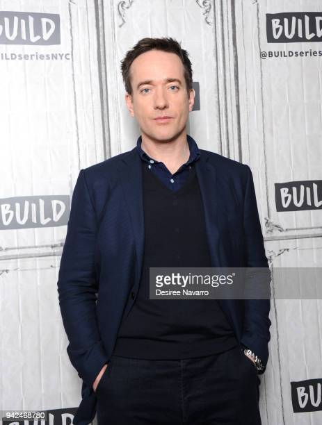 Actor Matthew Macfadyen visits Build Series to discuss 'Howards End' at Build Studio on April 5 2018 in New York City