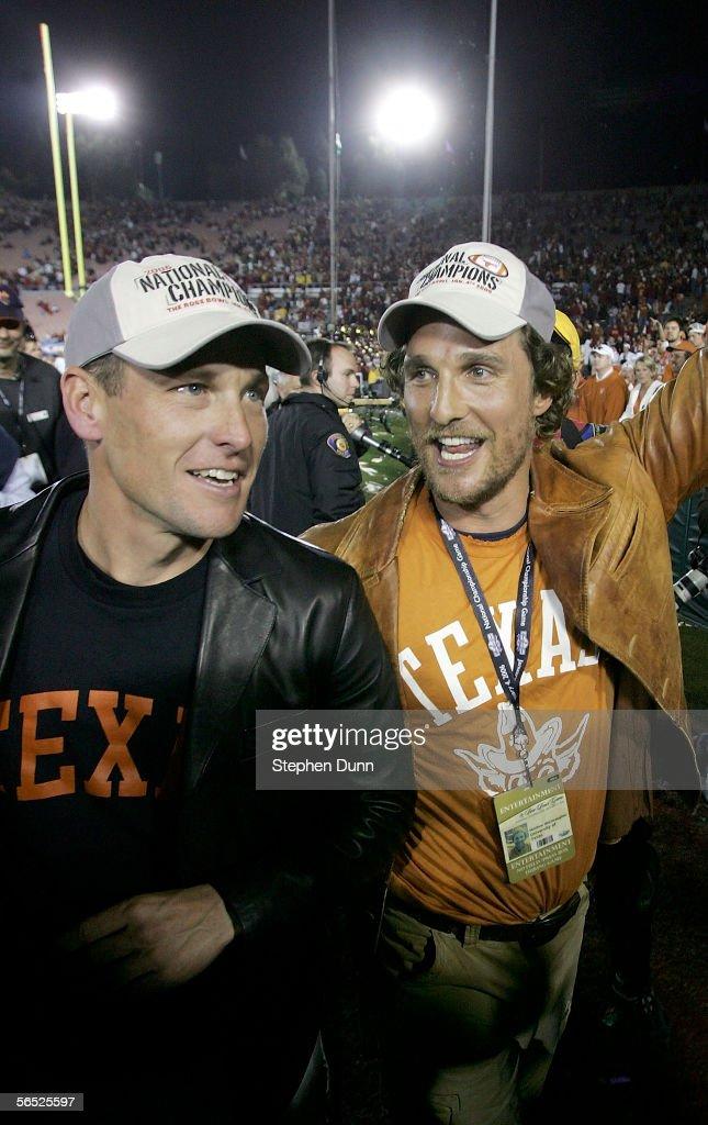 National Championship Rose Bowl: USC v Texas : ニュース写真