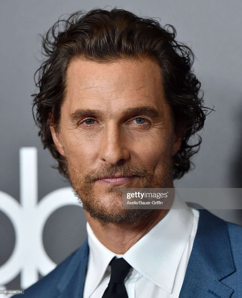 Actor Matthew McConaughey arrives at the 20th Annual Hollywood Film Awards at the Beverly Hilton Hotel on November 6, 2016 in Los Angeles, California.