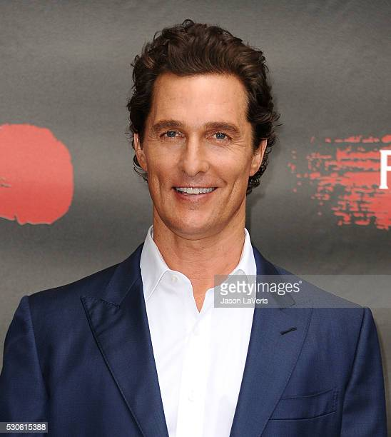 Actor Matthew McConaughey attends a photo call for Free State of Jones at Four Seasons Hotel Los Angeles at Beverly Hills on May 11 2016 in Los...