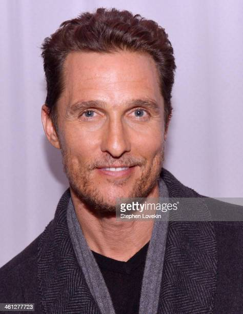 Actor Matthew McConaughey attends a screening of Dallas Buyers Club hosted by Film Society Of Lincoln Center at the Academy Theater at Lighthouse...