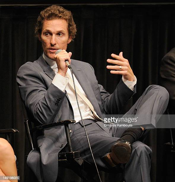 Actor Matthew McConaughey attends a screening of Killer Joe at The Film Society of Lincoln Center on July 24 2012 in New York City