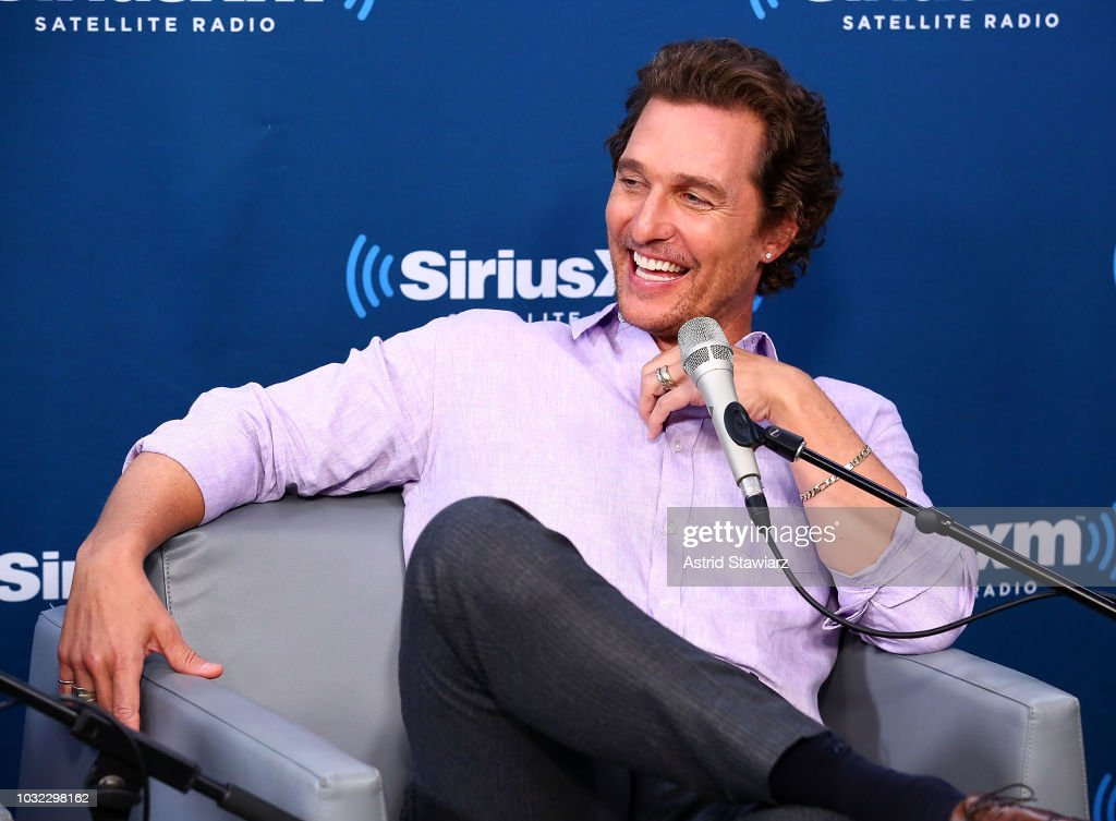 Actor Matthew McConaughey attends SiriusXM's Town Hall with Matthew McConaughey And The Cast Of 'White Boy Rick' on September 12, 2018 in New York City.