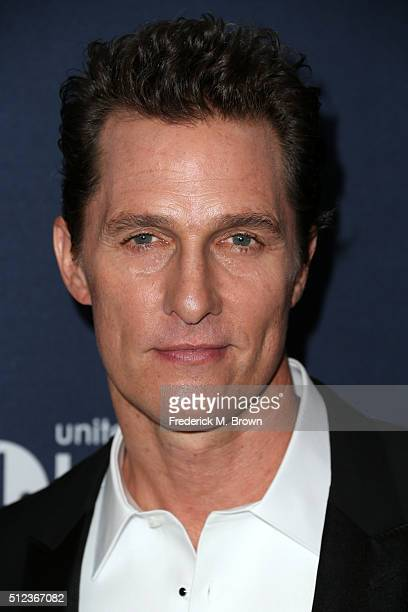Actor Matthew McConaughey attends the 3rd annual unite4humanity at Montage Beverly Hills on February 25 2016 in Beverly Hills California