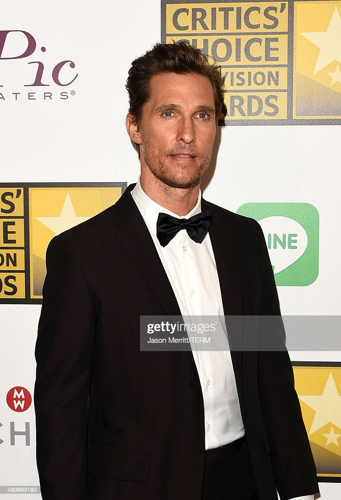 Actor Matthew McConaughey attends the 4th Annual Critics' Choice Television Awards at The Beverly Hilton Hotel on June 19, 2014 in Beverly Hills, California.