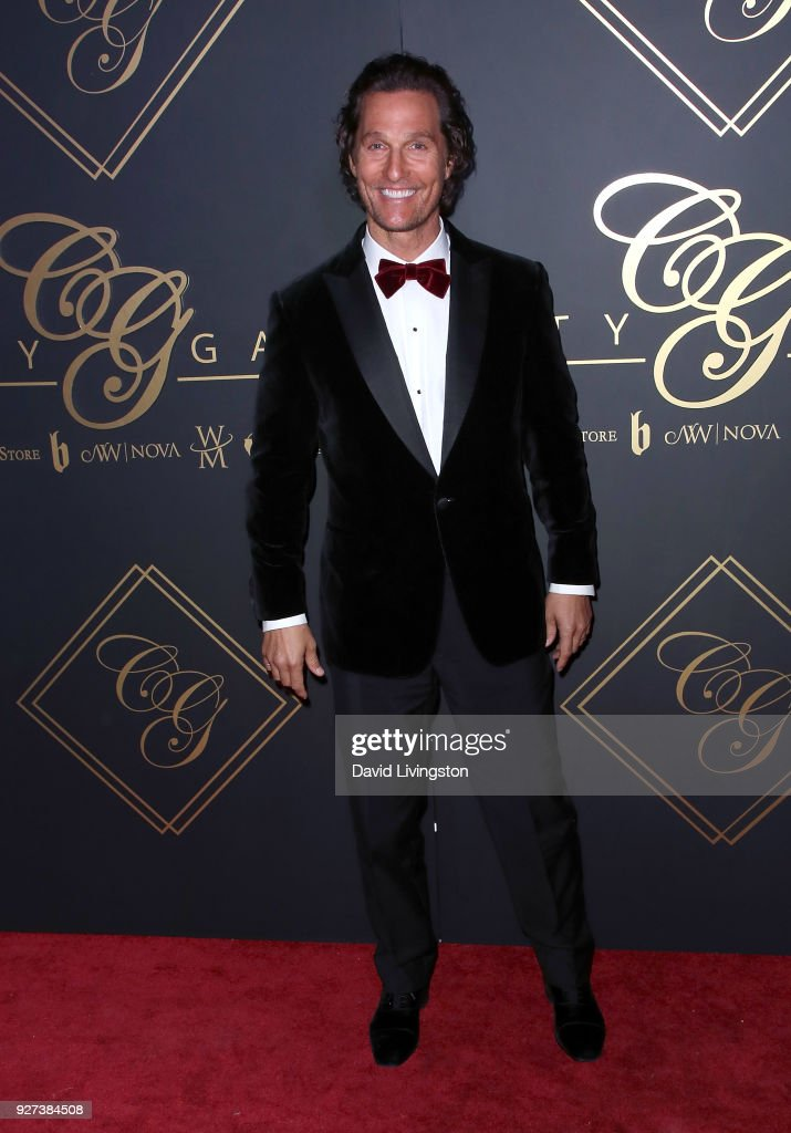 Actor Matthew McConaughey attends the City Gala 2018 at Universal Studios Hollywood on March 4, 2018 in Universal City, California.