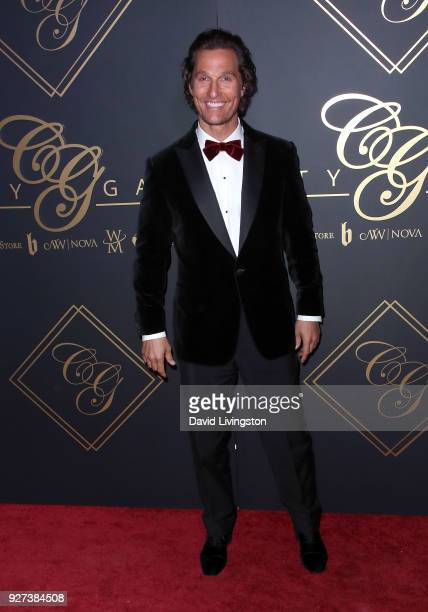 Actor Matthew McConaughey attends the City Gala 2018 at Universal Studios Hollywood on March 4 2018 in Universal City California